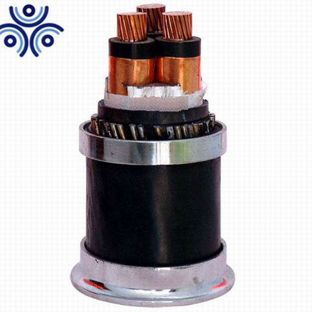 3 core 11 kv 185mm2 armoured medium voltage power cable