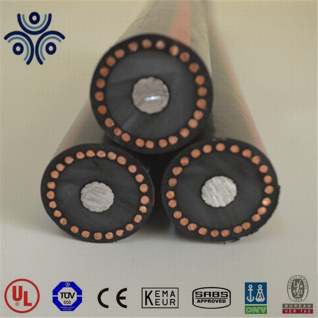 35KV 4/0AWG TRXLPE insulation primary mv ud cable