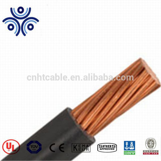 4/0 UL Strand Copper Conductor RHW for building wire
