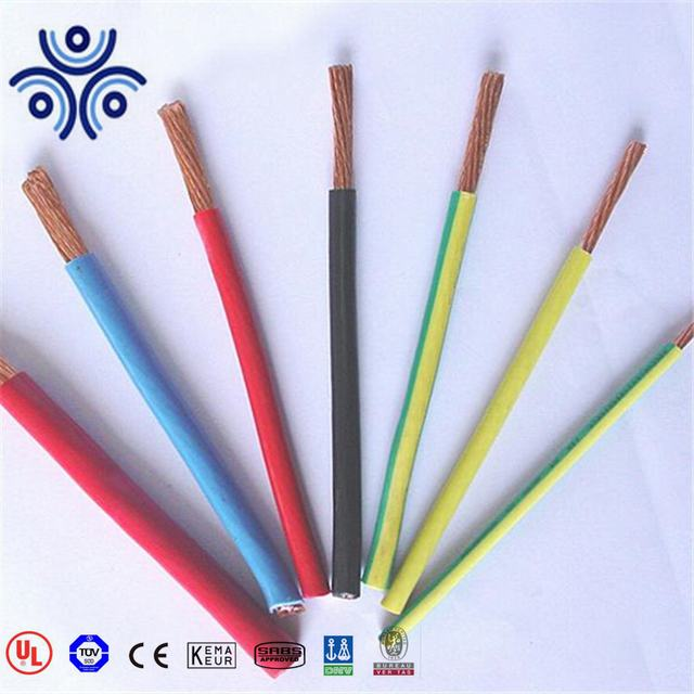 600V 14awg 12awg 10awg 8awg Thermoplastic-Insulated Wires and Cables