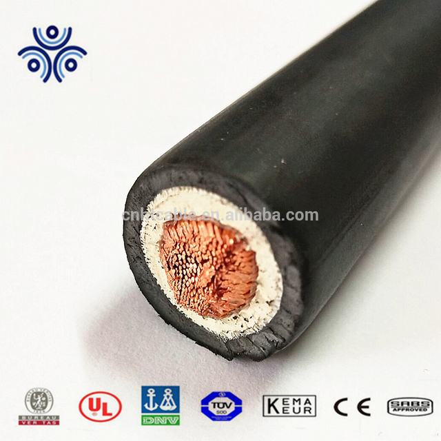 600v DLO rubber insulation type cable