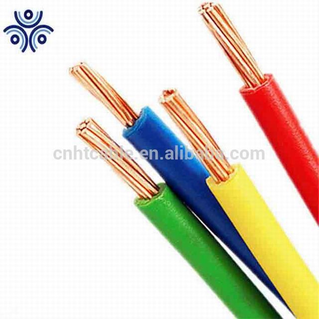 Black XLPE Insulation Type RHW RHW-2 Cable hot salt in American