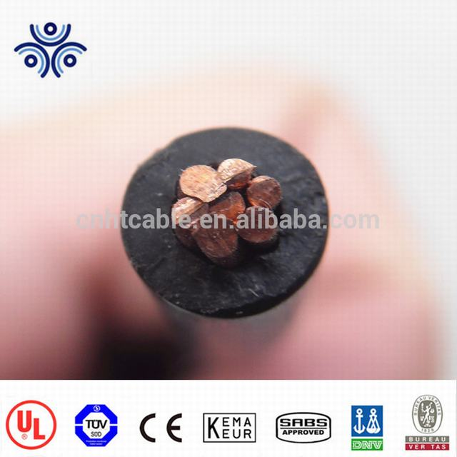 Copper conductor XLPE insulation 600V UL44 standard type XHHW-2 wire