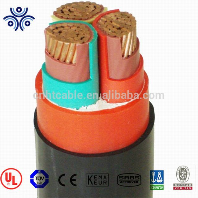 High performance stranded copper conductor XLPE 120mm2 size