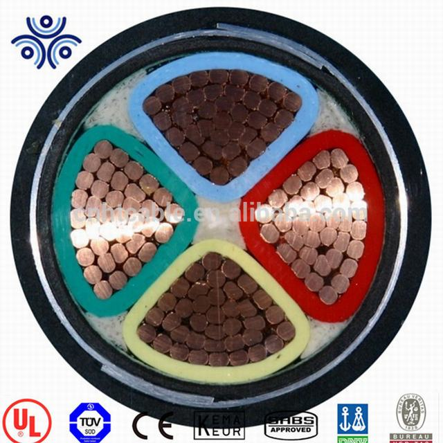 High standard power cable 70mm2 95mm2 120mm2 XLPE underground cable