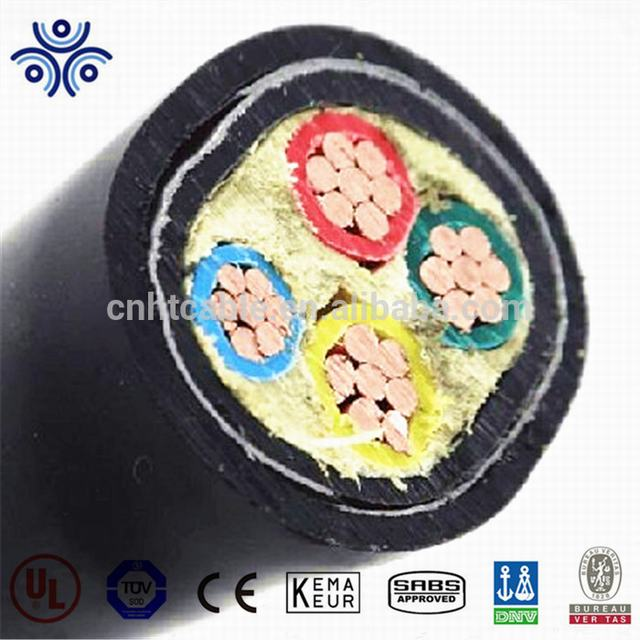 IEC 60502 standard 4*35mm2 4*50mm2 4*70mm2 CU/XLPE/PVC/STA /PVC power cable