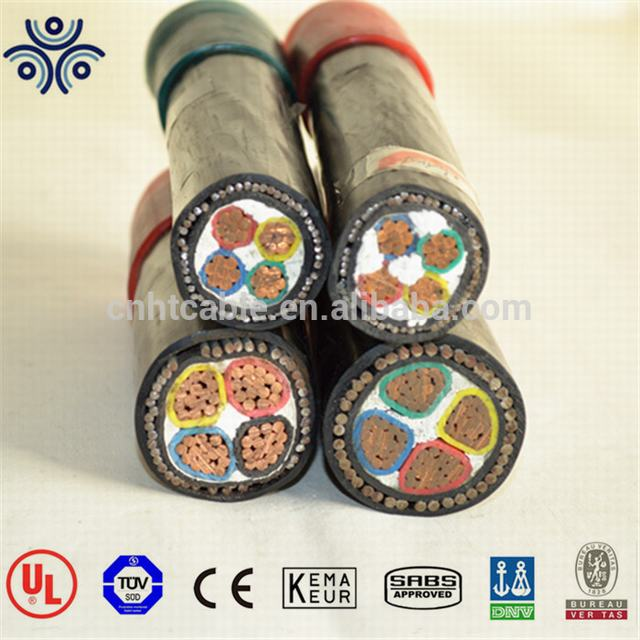 IEC 60502 standard copper conductor XLPE insulation power cable