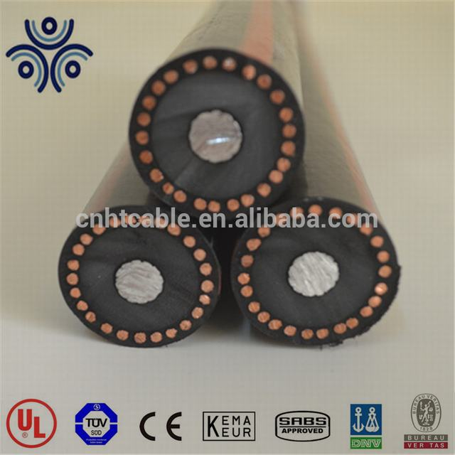 MV90 Cable 250MCM aluminum Cable TRXLPE insulation 133% IL LLDPE Cable