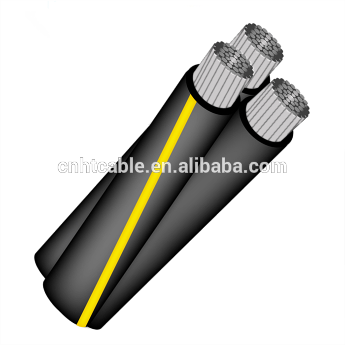 Secondary URD aluminum conductor XLPE insulated 600V cable