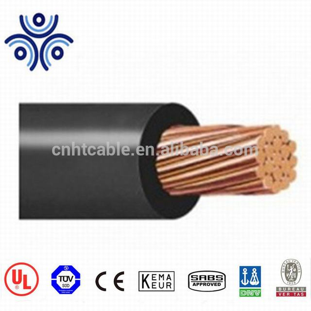 Single copper conductor with cross-linked polyethylene insulation electric wire cable