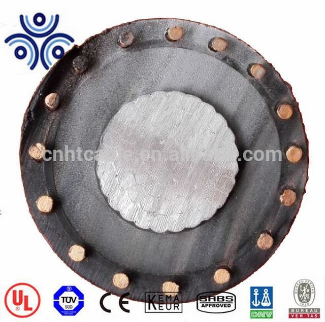 TRXLPE PVC Power Cable with Copper Wire Shield 15kV Aluminum Conductor