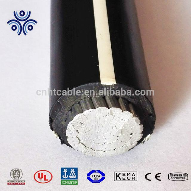 UL certificate aluminum PV cable best selling in North American market