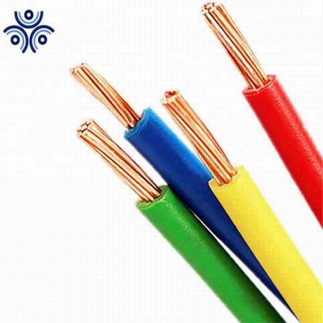 UL83 standard 8 AWG 1 Conductor Stranded PVC Insulation THW Cable