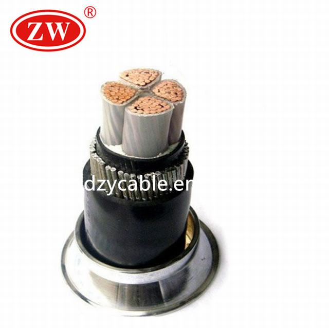 0.6/1 KV 4 core steel wire Armoured electrical power Cable