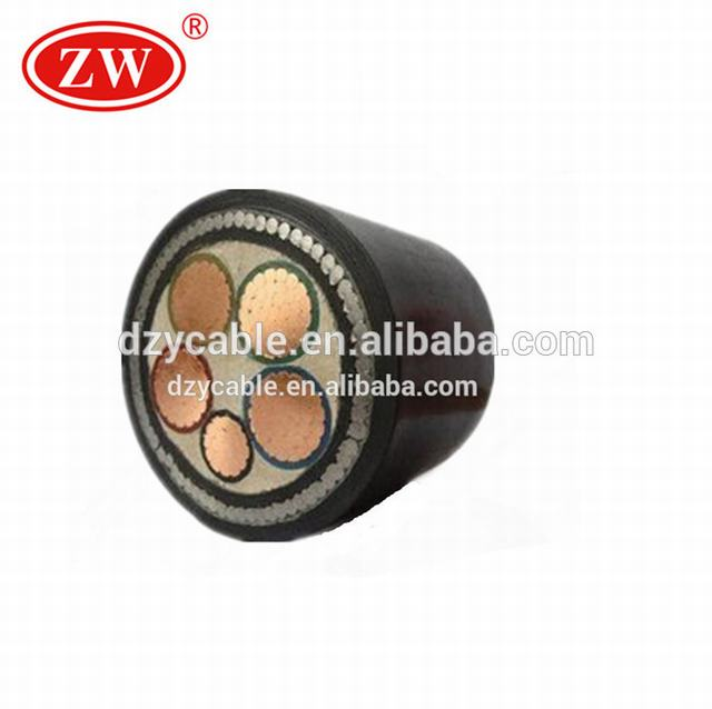 0.6/1KV~26/35KV Low/Medium/High Voltage Fire-resistant Underground Armoured xlpe Insulated Power Cable