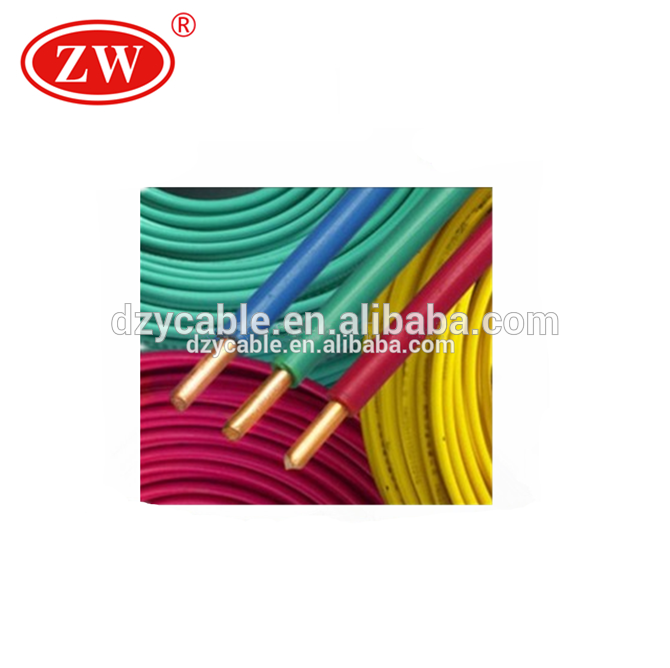 CE certificate good quality 450/750V electric wire cable prices