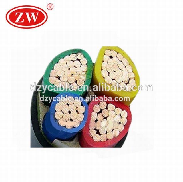 Copper Conductor Material and Construction Application copper cable