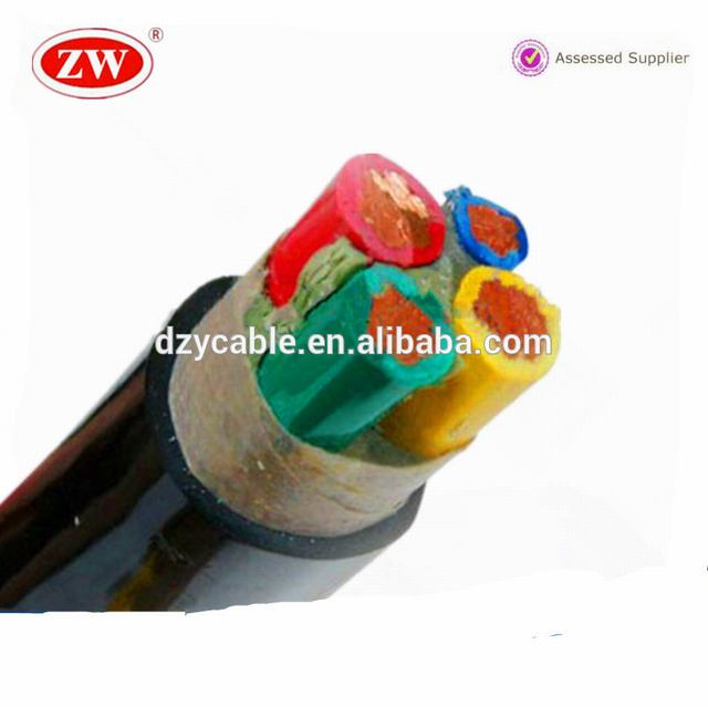 Copper core XLPE insulated steel armoured PVC or PE sheathed power cable