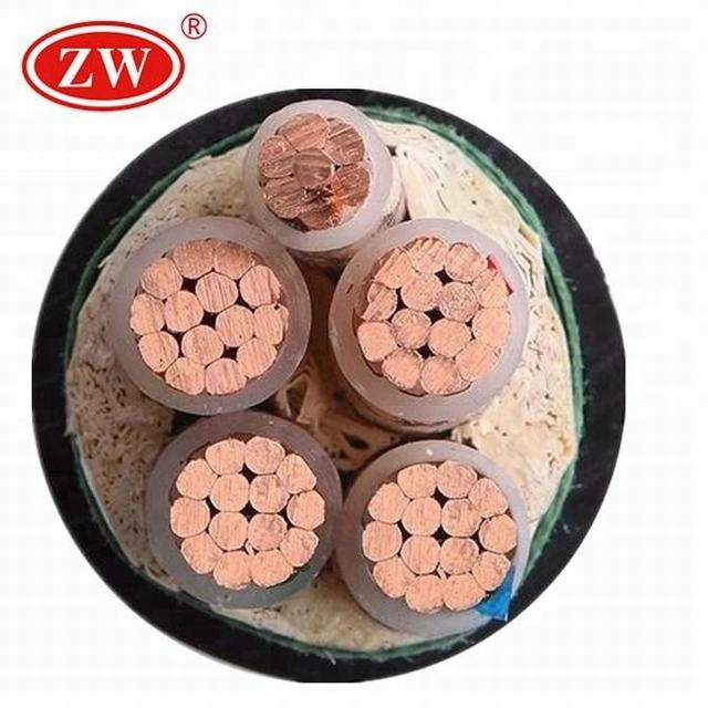 PVC Insulation 4 core 5 core copper Material power Building cable