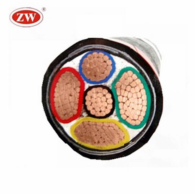 ZR-YJV22 0.6/1KV cu/xlpe/sta/pvc copper steel tape armoured power cable