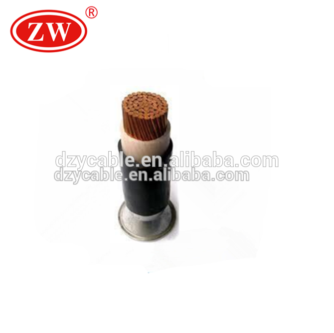 low voltage CU/XLPE/PVC single core Power Cable