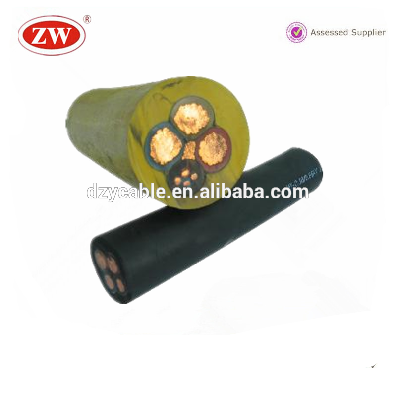 mv 4 core Rubber Insulated Power Cable