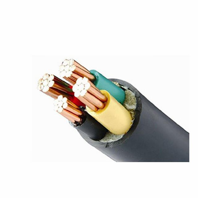 0.6/1 Kv DC Steel Wire/Tape Armor Power Cable with XLPE Insulation 3G 6 sq mm