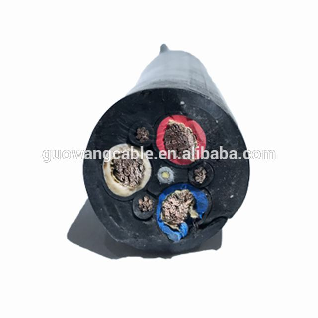 1000V 5 Core 95 mm EPR/Neoprene/CPE Sheath Rubber Cable