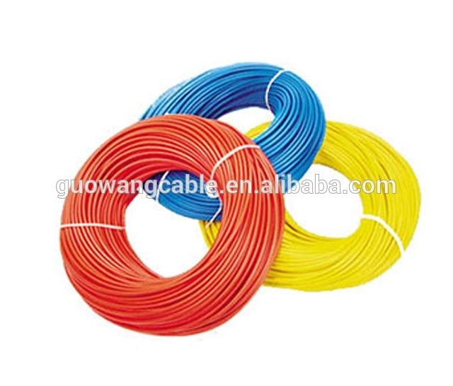 2017 new pvc insulation copper conductor single core eletricals wire and cable