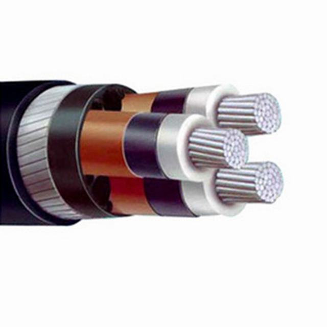 3 core Aluminum Copper conductor steel wire armor XLPE cable for sale