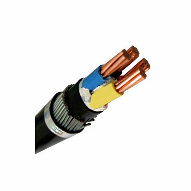 3X16mm COPPER PVC INSULATED STEEL WIRE ARMORED POWER CABLE FOR CONSTRUCTION