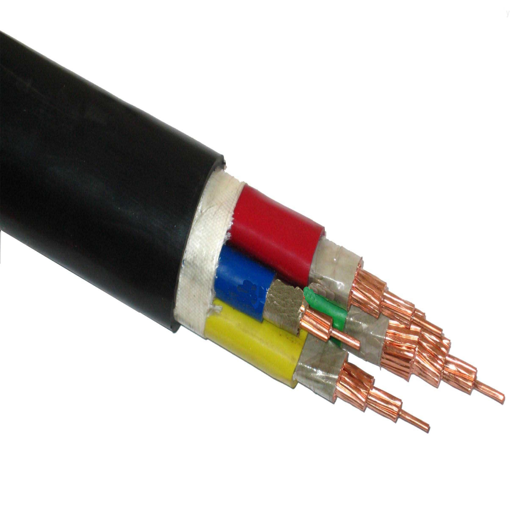 4/6/10/16mm Copper conductor pvc insulation copper braid shielding pvc jacket electric cable/wire for construction