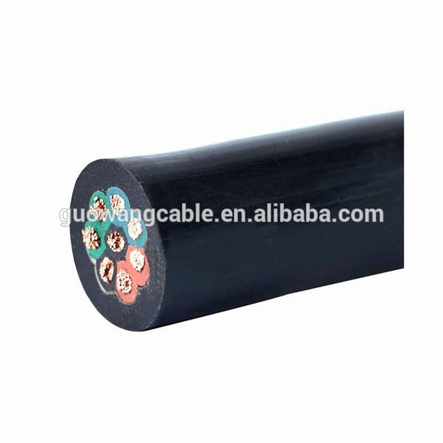 4 Core  More Flexible Ordinary Rubber Insulated Flexible Wire Outdoor Rubber Cable