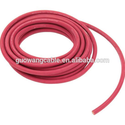450/750V Rubber/PVC/PCP Sheathed 400amp welding cable With Stranded Copper Conductor And CE Certificate