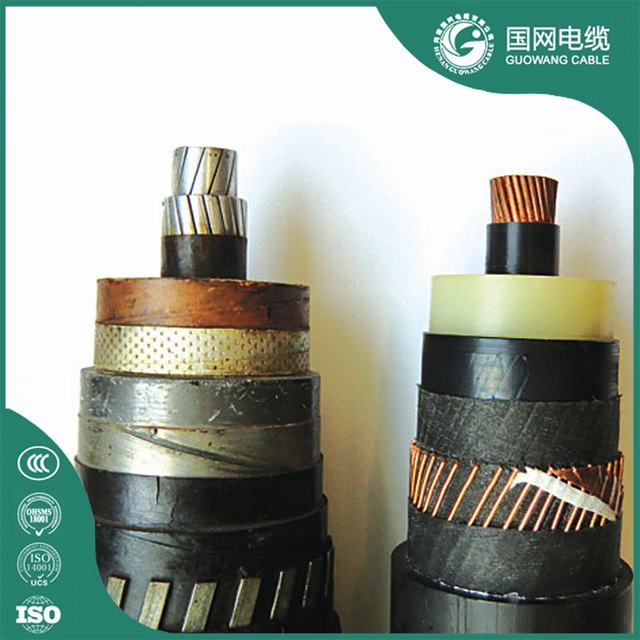 8.7/10 kV XLPE/PVC Single Core 500 mm2 Copper Cable
