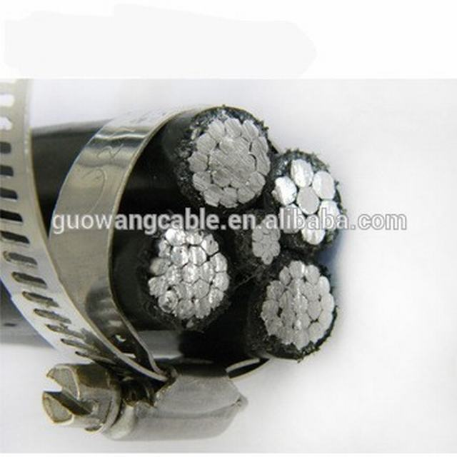 ABC cable overhead cable aerial bunded cable xlpe insulated