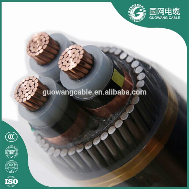 CU/XLPE/CTS/PVC/SWA/PVC 19/33 KV 3cx95mm2 Power Supply Cable