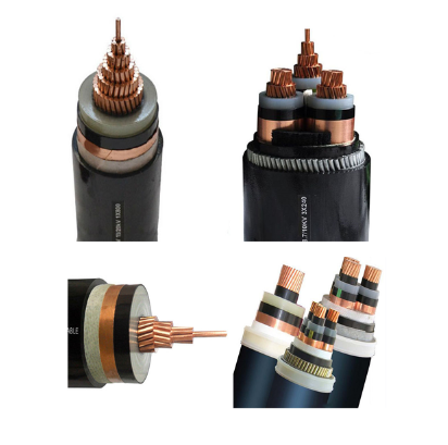 China supplieNO.3271- 11kV 3 Core 3x240mm2 CU/XLPE/CTS/PVC/SWA/PVC Medium Votage Armoured Underground XLPE Cable 240mm power cab