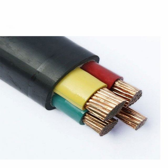 Copper Conductor Rubber Sheath 5x10mm2 Electric Power Cable