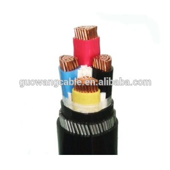 Electric cable wire 4 core electric cable wire