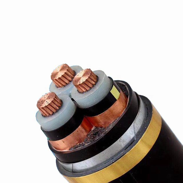 Electrical cable Cu-conductor/XLPE insulated/ PVC sheathed unarmored Power Cable
