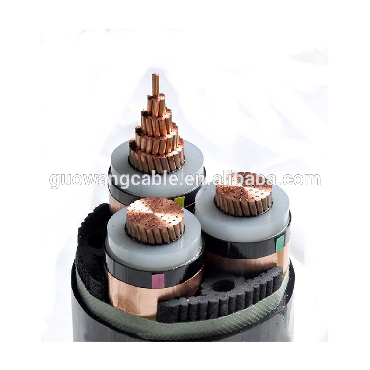 Flexible Electric Cable Power Copper Rubber Insulated 3 Core 4mm Flexible Electric Cable
