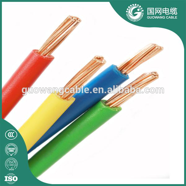 Flexible earthing wire 2.5 mm kabel harga PVC insulated copper earthing conductor electrical cable
