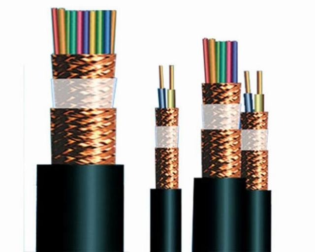 Low voltage 0.3/0.5kV multi cores double shieldings copper wire braided screens CWS PVC sheath Insulation Instrument Cable