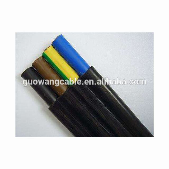 Flexible Rubber Cables Flat Cable H05RN-F RUBBER CABLE