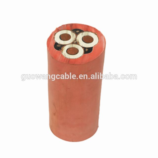 Three Cores Tough Rubber Sheathed Flexible Cable With Specification Of 3x25mm2 Silicone Insulated Wire Cable 2.5mm2