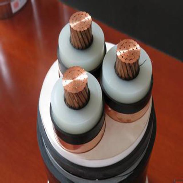 ISO CE certified high voltage 1 core 3 core xlpe 11kv power underground cable factory price