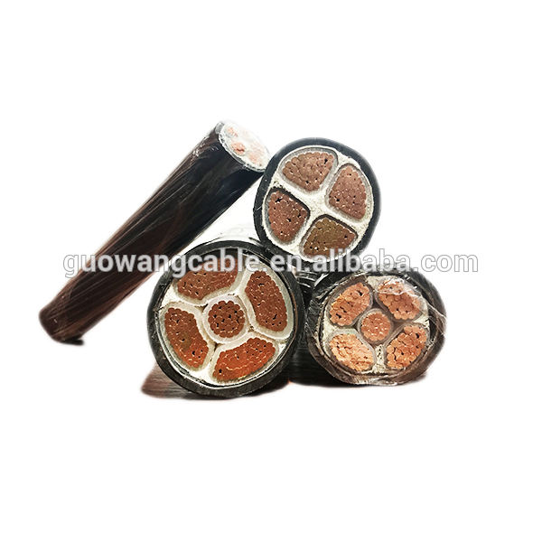 600/1000V PVC XLPE Insulated Steel Wire Armored Power Cable Standard 10mm2 X 4 Core Cable