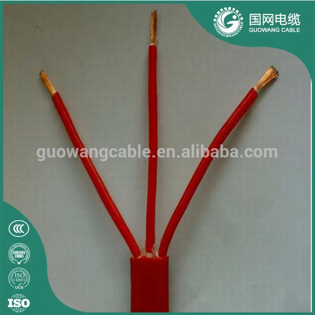 High Temperature VDE Approval H05S-K H05SS-F 200degree Silicone Rubber Cable