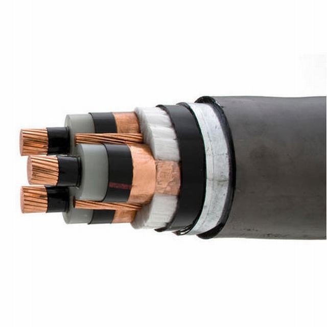 High Voltage Aluminum Tape Armoured 36kv Power Cable